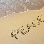 "<a href=""http://www.publicdomainpictures.net/view-image.php?image=4510&picture=word-peace-in-sand"">Word Peace In Sand</a> by Petr Kratochvil"